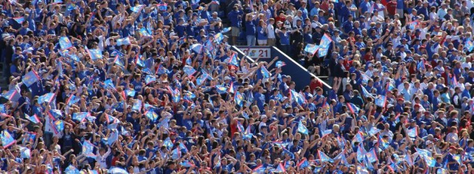 Kansas Football Student Section