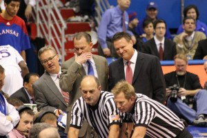 Coach Self Laughing at Dooley commentary