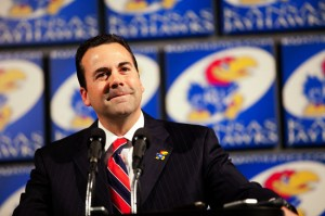 Kansas Athletics Director Sheahon Zenger