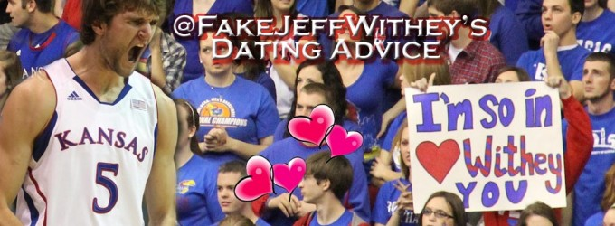 Fake jeff withey dating advice