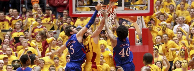 Kansas Iowa St Basketball 2